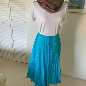 Lauren RL, 100% silk skirt.